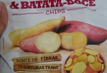 Chips Mandioquinha e Batata-Doce Natural Fhom