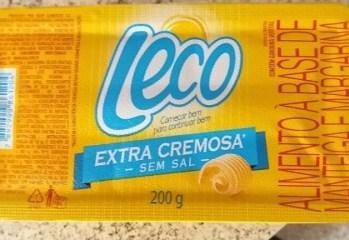 Manteiga e Margarina Extra Cremosa Sem Sal Leco
