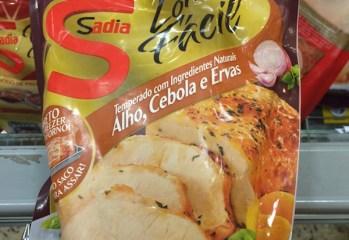 Lombo Fácil Temperado com Ingredientes Naturais Alho, Cebola e Ervas Sadia
