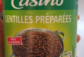 Lentilles Préparées Casíno