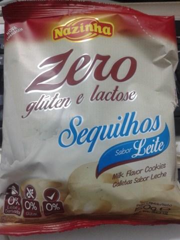 Sequilhos sabor Leite Zero Nazinha