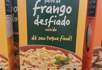 Peito de Frango Desfiado Cozido Vapza