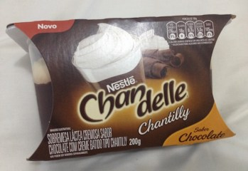 Sobremesa Chandelle Chantilly sabor Chocolate Nestlé