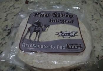 Pão Sírio Integral Artesanato do Pão
