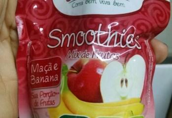 Smoothies Mix de Frutas Maçã e Banana Jasmine