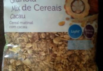 Granola Mix de Cereais Cacau Sentir Bem