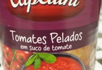 Tomates Pelados em Suco de Tomate Capellini