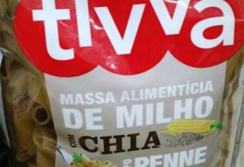 Massa de Milho com Chia Tipo Penne Tivva