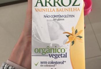 Bebida Orgânica à base de Arroz e Baunilha Isola Bio
