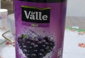 Bebida de Fruta Adoçada Sabor Uva Del Valle