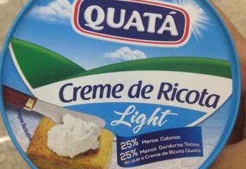 Creme de Ricota Light Quatá