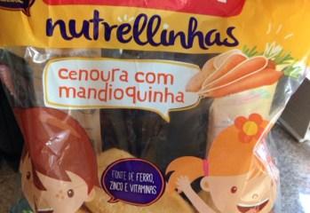 Nutrellinhas Cenoura com Mandioquinha Nutrella