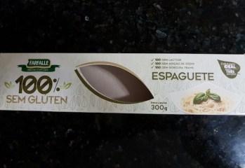 Macarrão Espaguete Sem Glúten Farfalle
