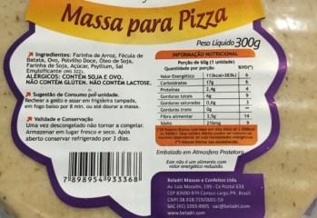 Massa para Pizza Beladri