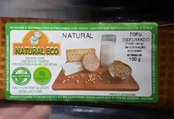 Tofu Defumado Natural Natural Eco