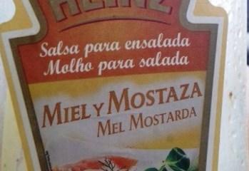 Molho para Salada Mel Mostarda Heinz