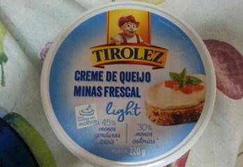 Creme de Queijo Minas Frescal Light Tirolez