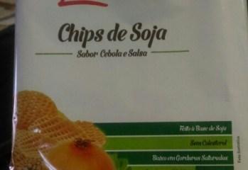 Chips de Soja sabor Cebola e Salsa Leven