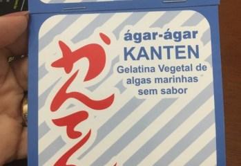 Gelatina Vegetal de Algas Marinhas Sem Sabor Agar Agar Kanten