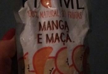 Purê de Frutas Manga e Maçã 100% Natural Pic-Me