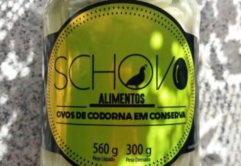 Ovos de Cordorna em Convserva Schovo