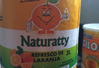 Refresco de Laranja Naturatty