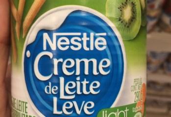 Creme de Leite Leve Light Nestlé