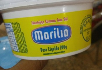 Manteiga Comum Com Sal Marília