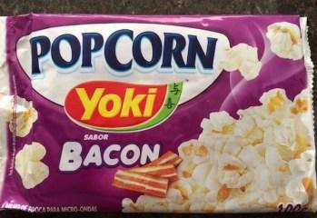 Pipoca para Micro-ondas Popcorn Bacon Yoki