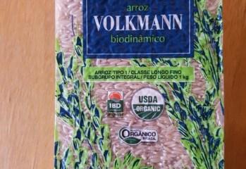 Arroz Agulhinha Integral Organico Volkmann