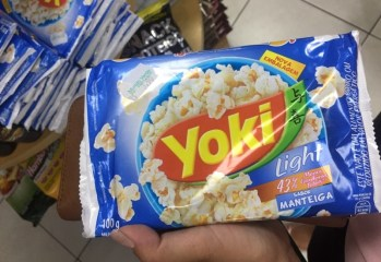 Pipoca Sabor Manteiga Light Yoki