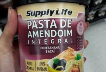 Pasta de Amendoim Integral com Banana e Acai Supply Life