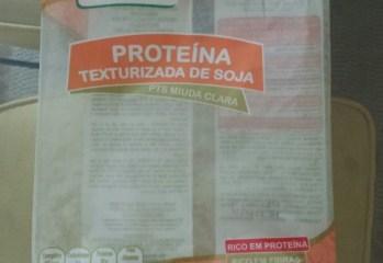 Proteina Texturizada de Soja Miuda Clara Frutos da Terra