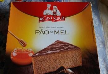 Bolo Suiço de Natal Pão de Mel Casa Suiça