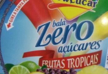 Bala Zero Açúcares Frutas Tropicais Lowçucar