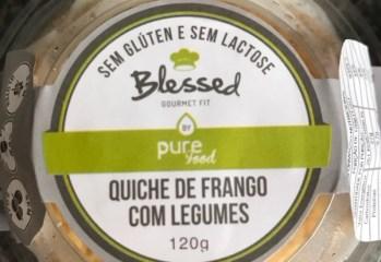 Quiche de Frango com Legumes Blessed Gourmet Fit