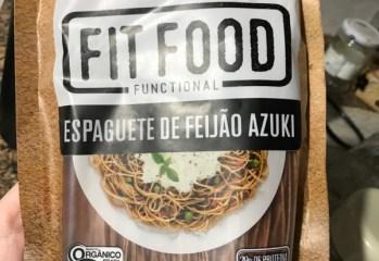 Espaguete de Feijão Azuki Orgânico Fit Food