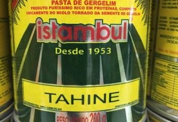 Pasta de Gergelim Tahine Istambul