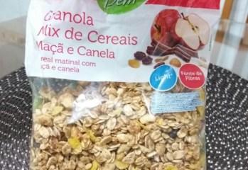Granola Mix de Cereais Maçã e Canela Sentir Bem