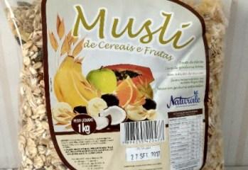 Musli de Cereais e Frutas Naturale