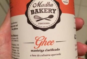 Manteiga Clarificada Ghee Madhu Bakery