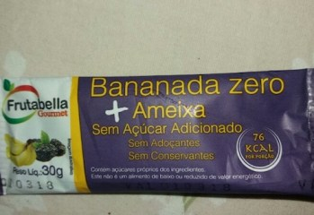 Bananada Zero + Ameixa Frutabella