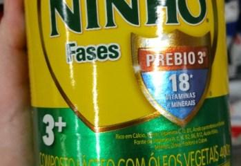 Composto Lácteo Ninho Fases 3+ Nestlé
