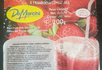 Polpa Frutas Vermelhas De Marchi