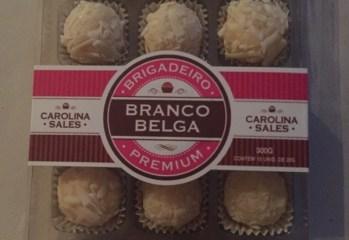 Brigadeiro Premium Branco Belga Carolina Sales