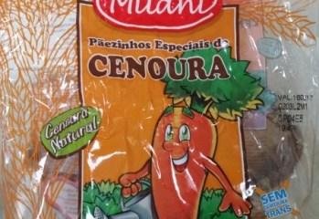 Pãezinhos de Cenoura Milani