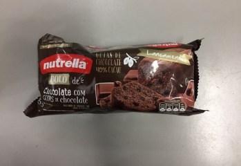 Bolo de Chocolate com Gotas de Chocolate Nutrella
