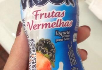 Iogurte Parcialmente Desnatado Frutas Vermelhas Vigor