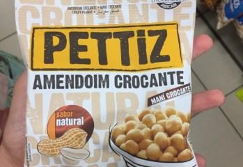 Amendoim Crocante Sabor Natural Pettiz Dori