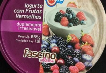Iogurte com Frutas Vermelhas Jundiá